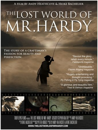 The Lost World of Mr. Hardy Poster