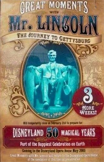 Disneyland: The First 50 Magical Years Poster