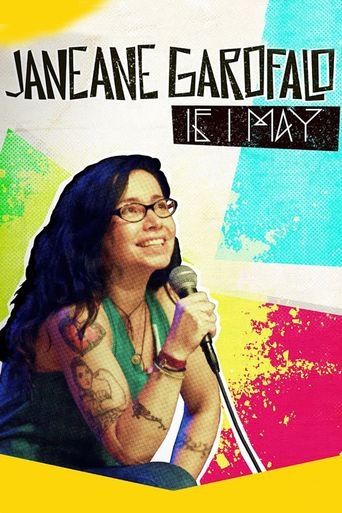 Janeane Garofalo: If I May Poster