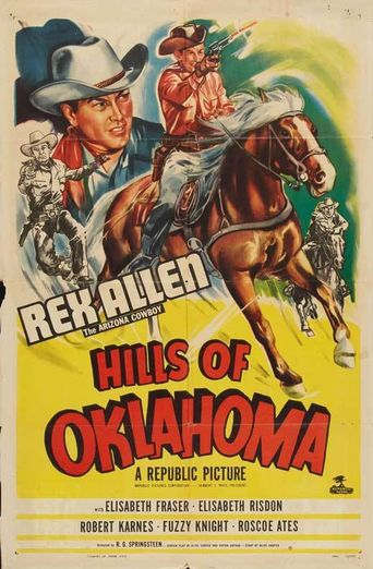 Hills of Oklahoma Poster