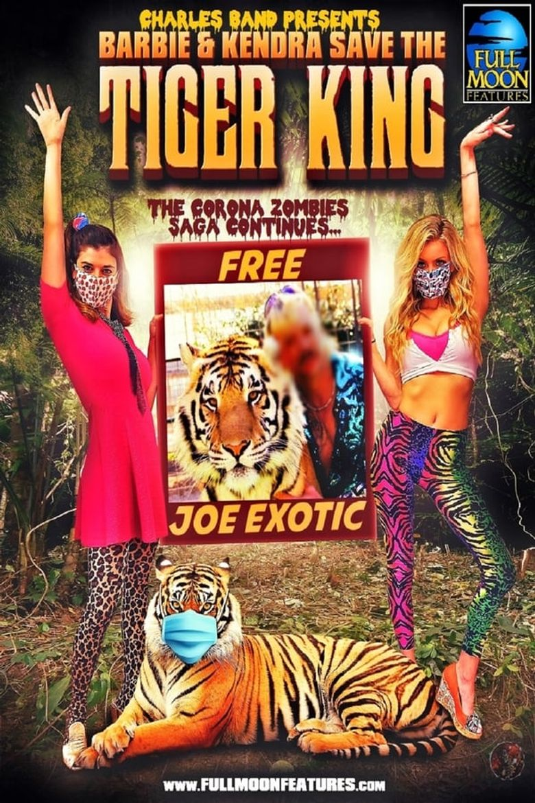 Barbie and Kendra Save the Tiger King! Poster