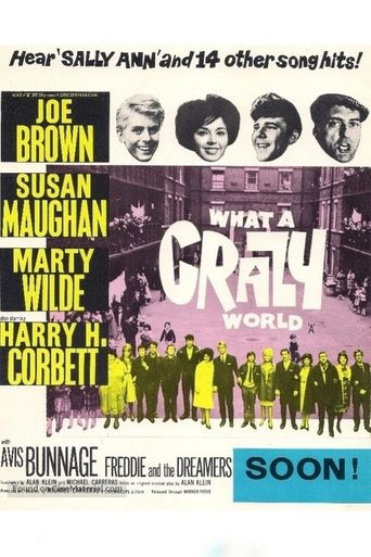 What a Crazy World Poster