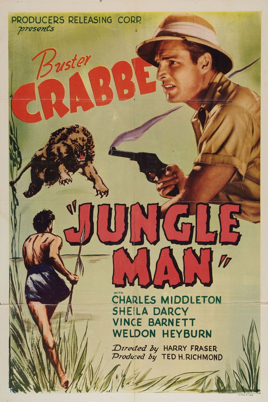 Jungle Man Poster