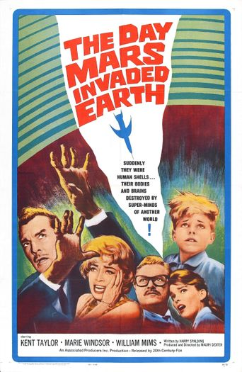 The Day Mars Invaded Earth Poster