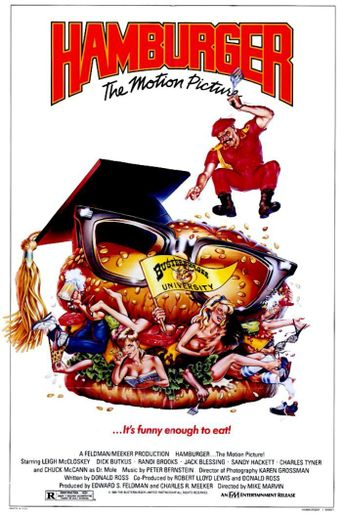 Hamburger: The Motion Picture Poster