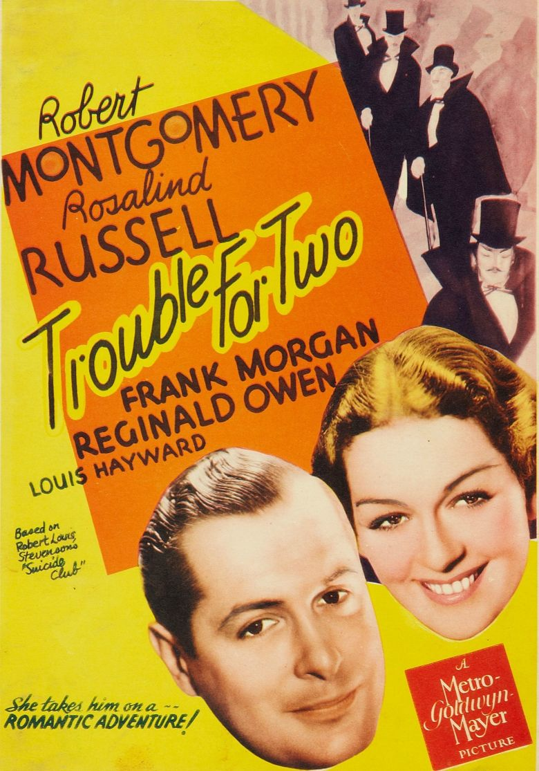 Trouble for Two Poster