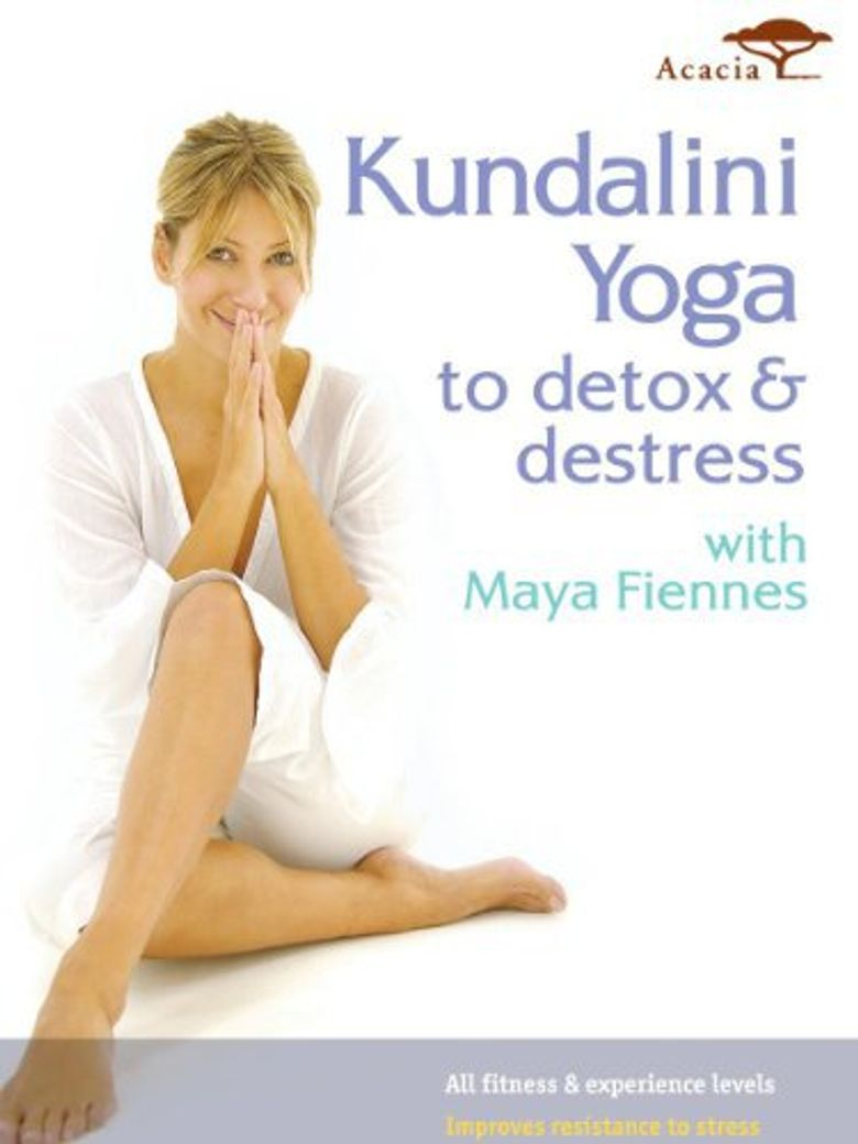 Kundalini Yoga To Detox and Destress Poster