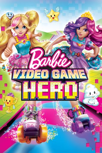 Barbie Video Game Hero Poster