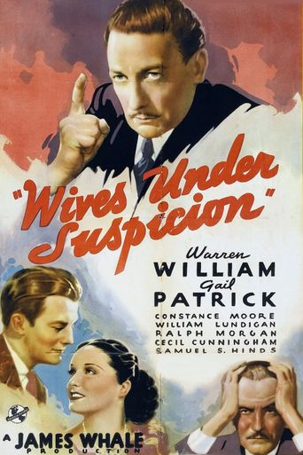 Wives Under Suspicion Poster