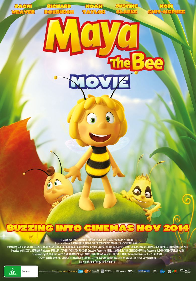 Maya the Bee Movie Poster