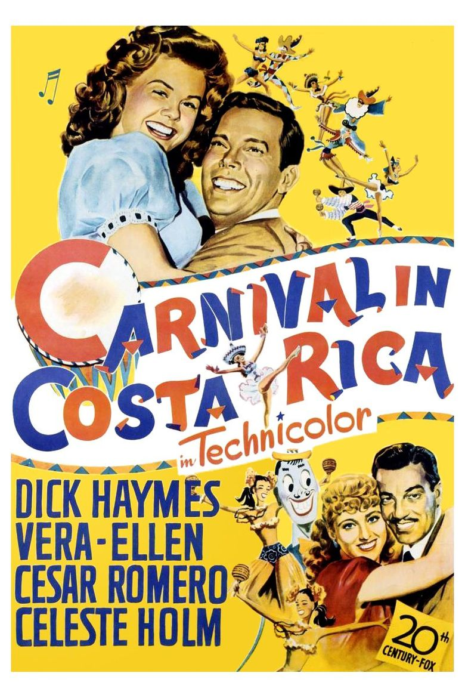 Carnival in Costa Rica Poster