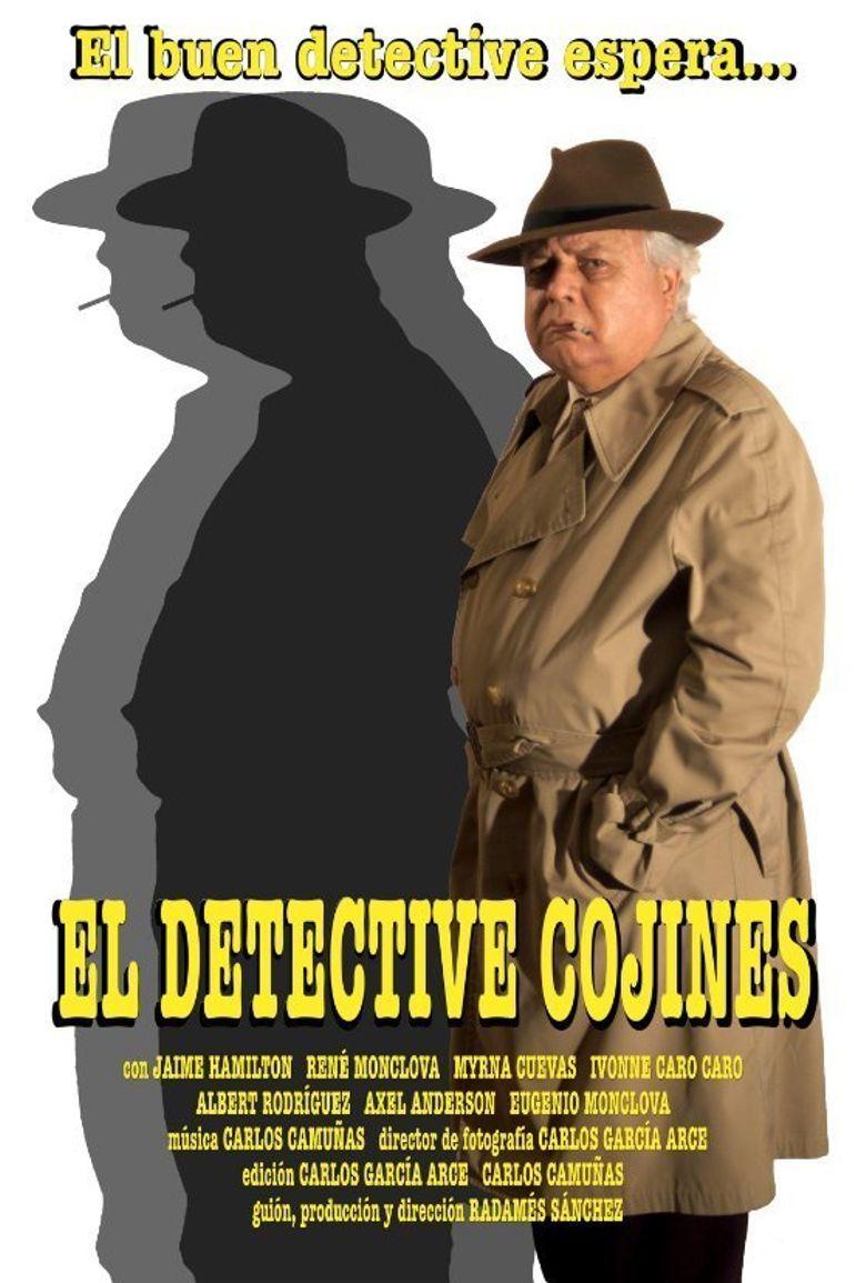 El detective Cojines Poster