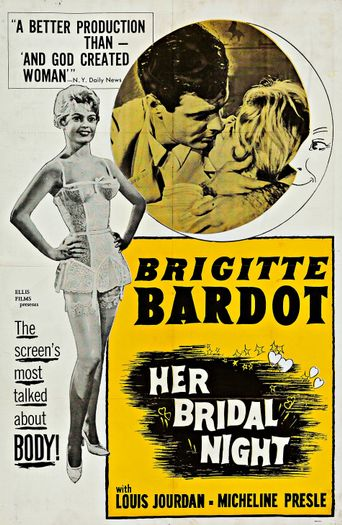 The Bride Is Much Too Beautiful Poster
