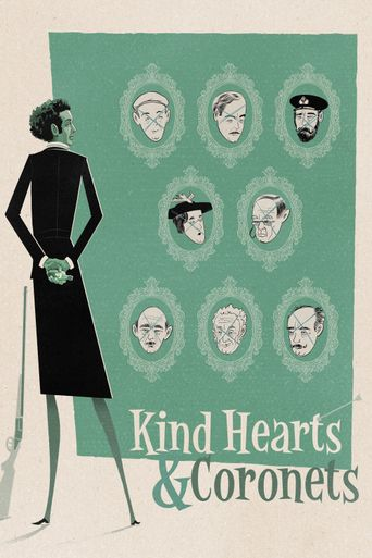 Kind Hearts and Coronets Poster