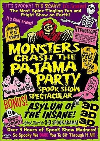 The Monsters Crash the Pajama Party Poster