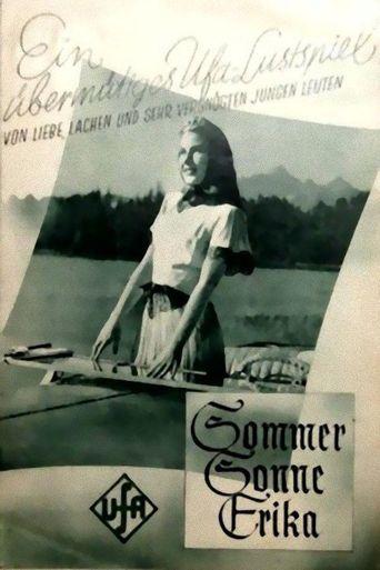 Sommer, Sonne, Erika Poster