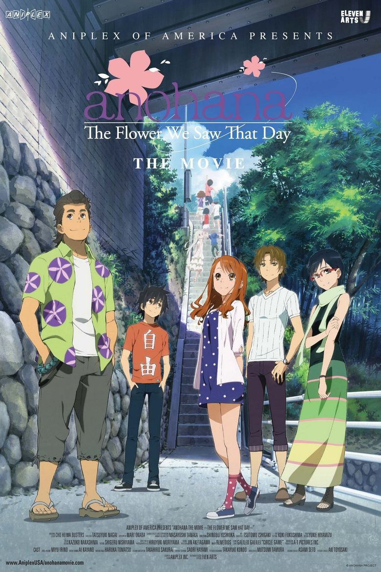anohana: The Flower We Saw That Day - The Movie Poster