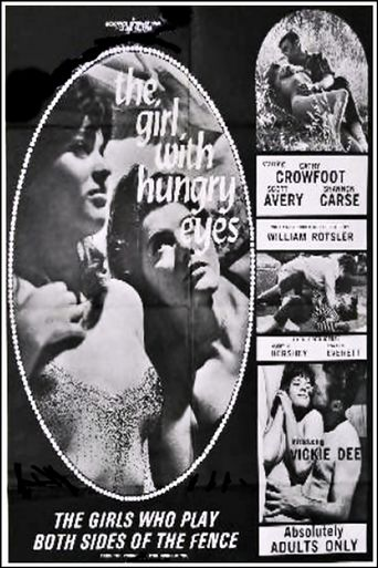 The Girl With Hungry Eyes Poster