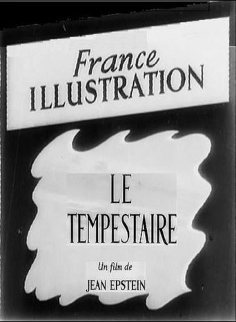 Le tempestaire Poster