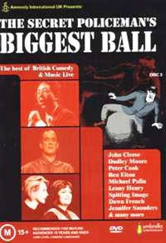 The Secret Policeman's Biggest Ball Poster