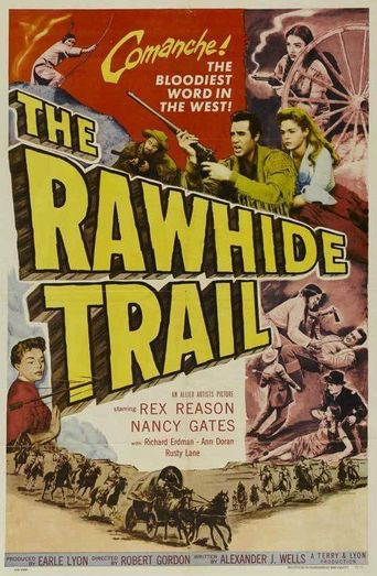 The Rawhide Trail Poster