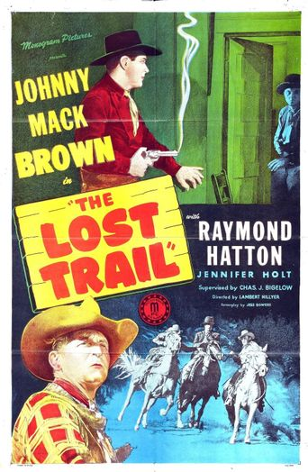 The Lost Trail Poster