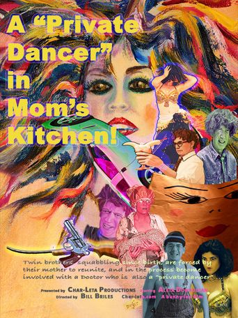 "A ""Private Dancer"" in Mom's Kitchen Poster"