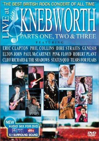 The Best British Rock Concert Of All Time: Live At Knebworth Poster