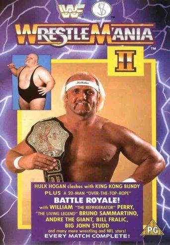 WWE WrestleMania II Poster