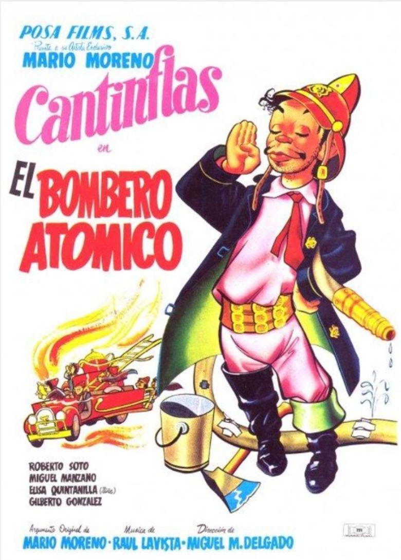 El bombero atómico Poster