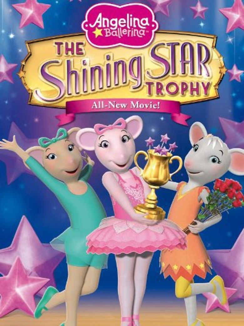 Angelina Ballerina: A Shining Star Trophy Poster