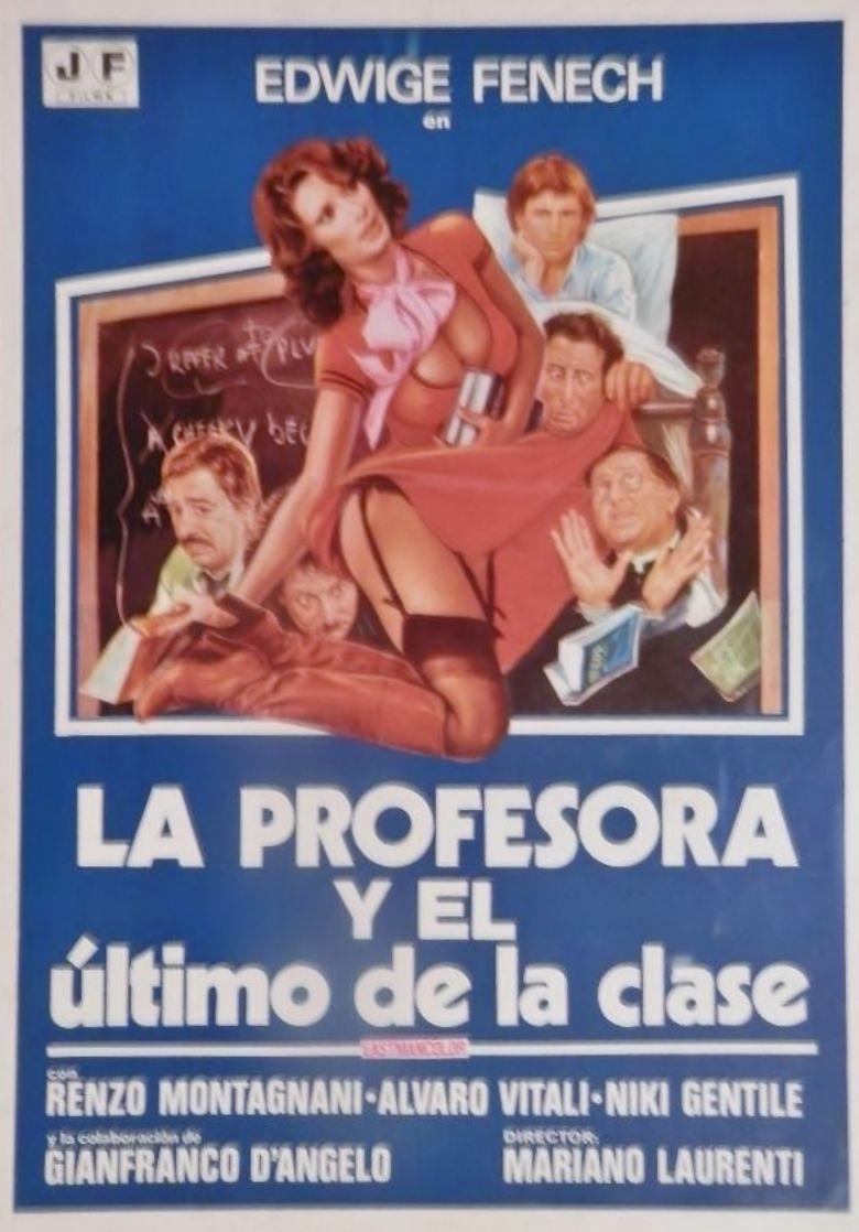 School Teacher in College Poster