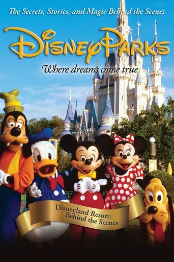 Disneyland Resort: Behind The Scenes Poster