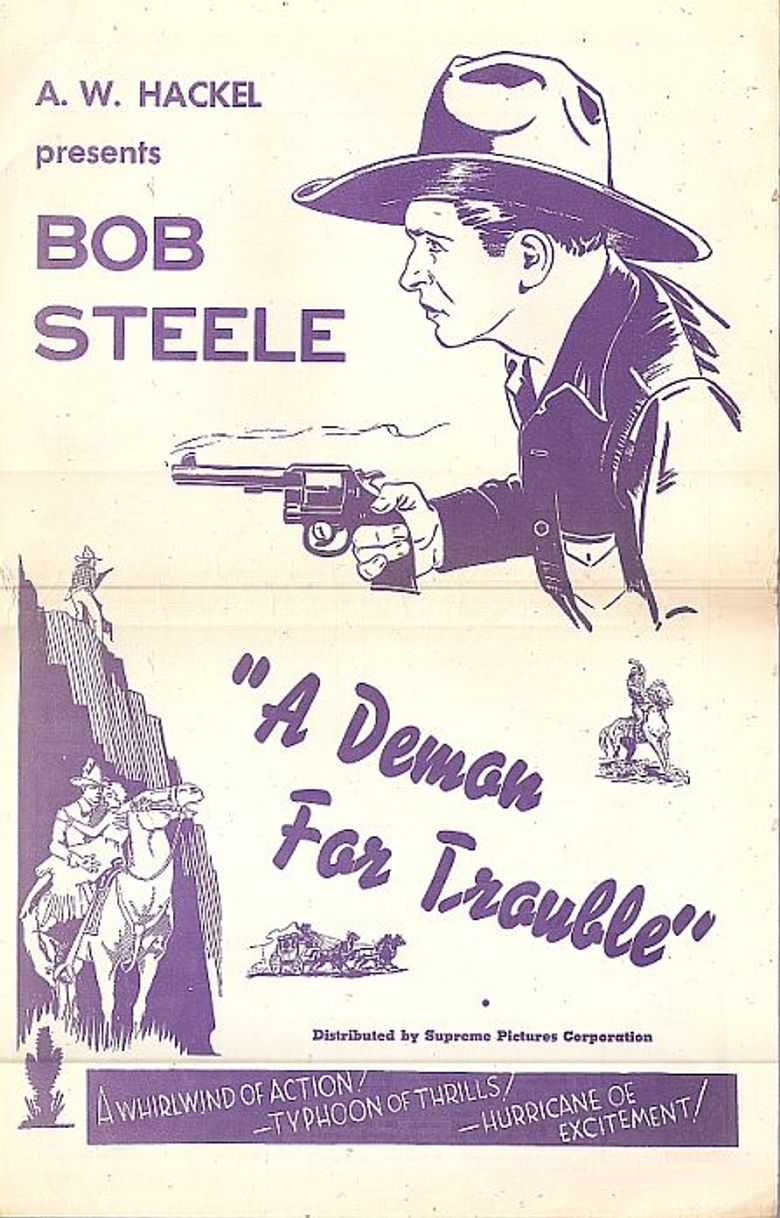 A Demon for Trouble Poster