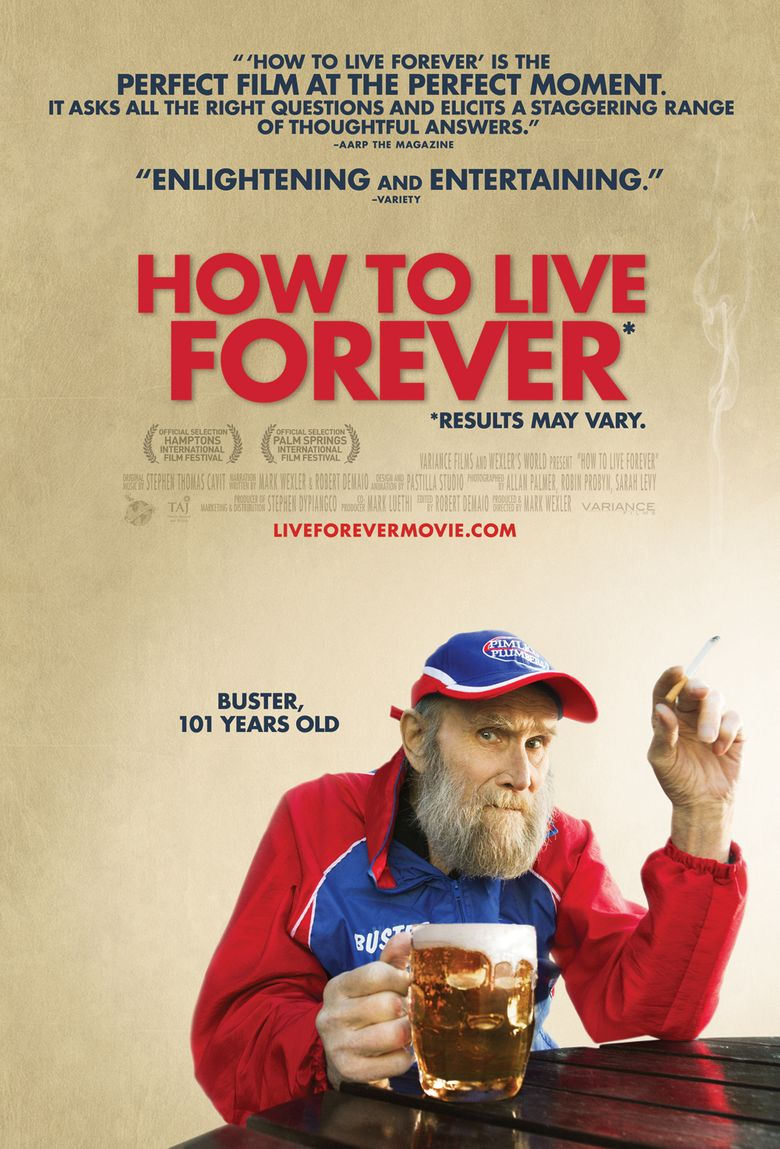 How to Live Forever Poster
