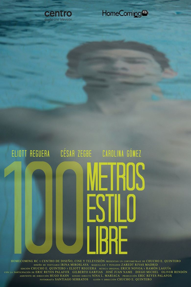 100m Freestyle Poster