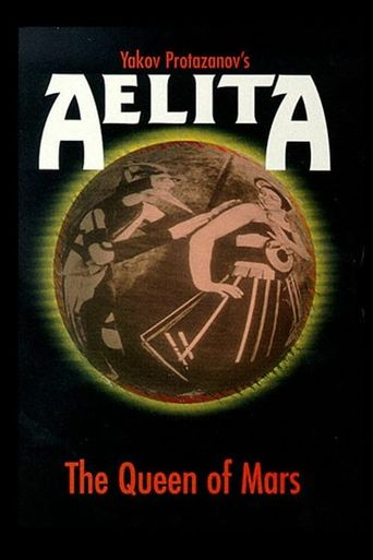 Aelita: Queen of Mars Poster