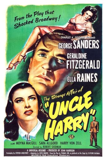 The Strange Affair of Uncle Harry Poster