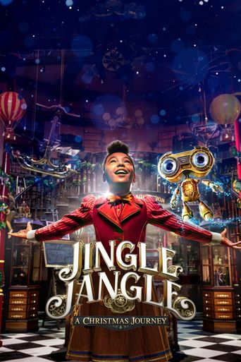 Jingle Jangle: A Christmas Journey Poster