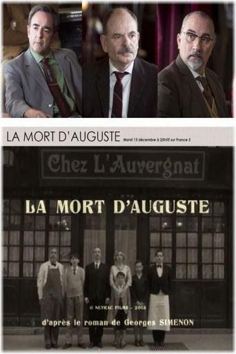 La mort d'Auguste Poster