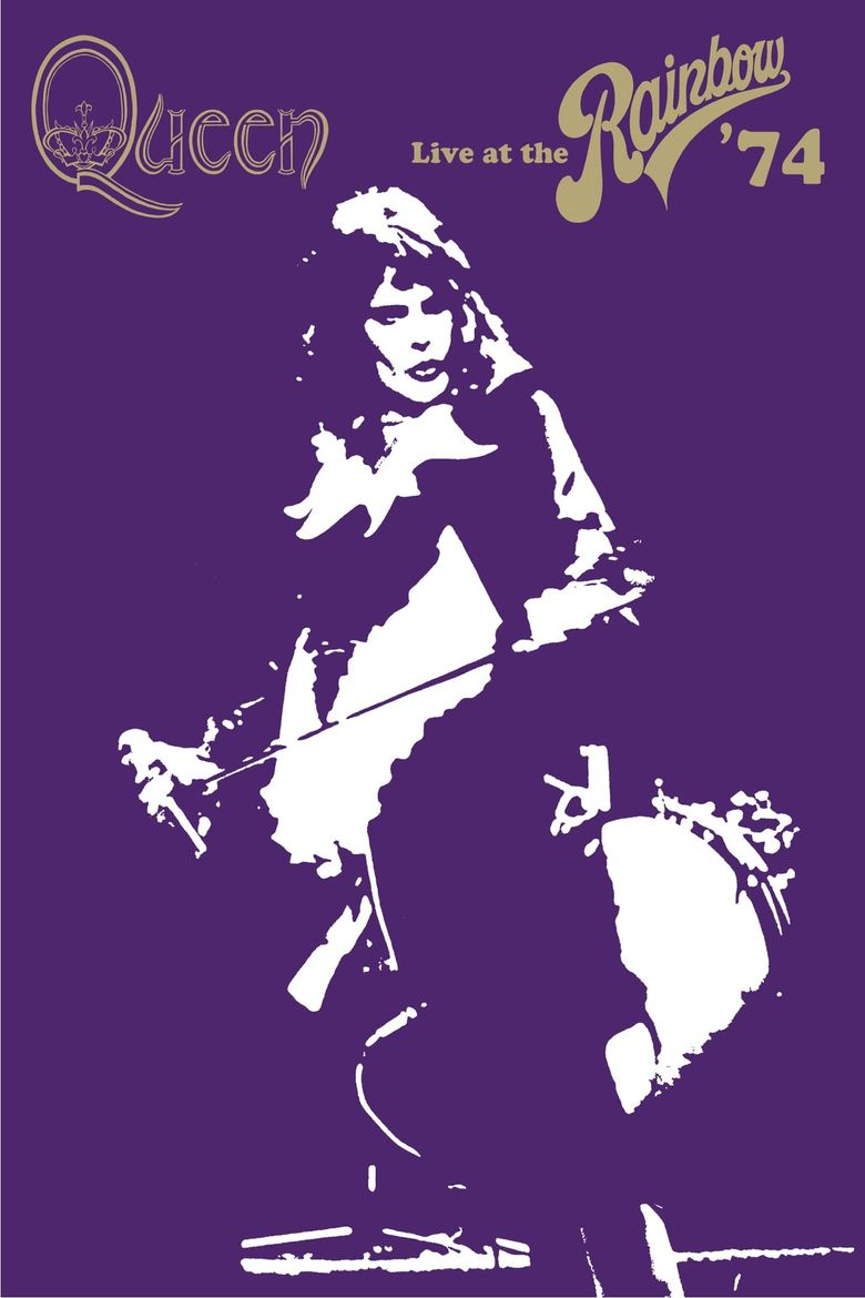 Queen: Live at the Rainbow '74 Poster