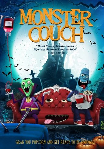 Monster Couch Poster