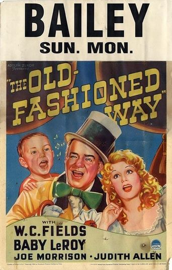 The Old Fashioned Way Poster