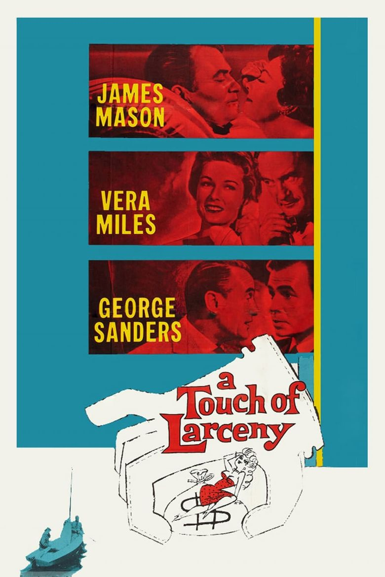 A Touch of Larceny Poster