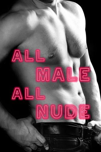All Male, All Nude Poster