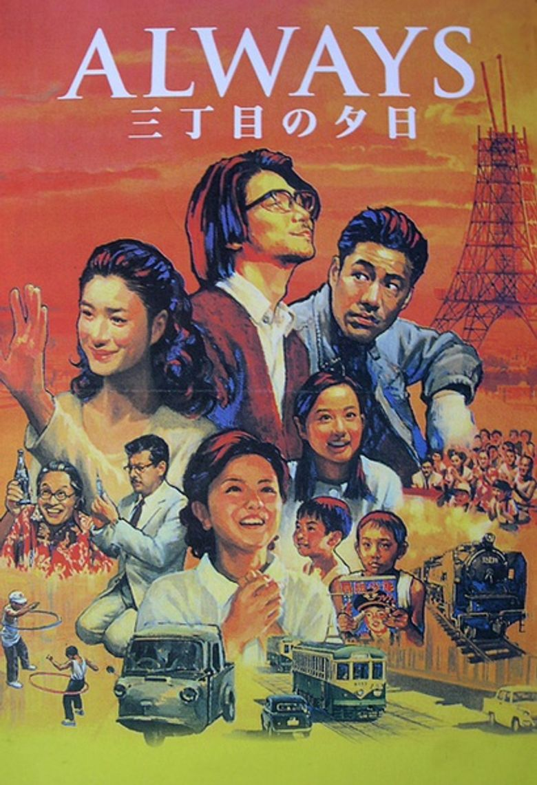 Always - Sunset on Third Street Poster