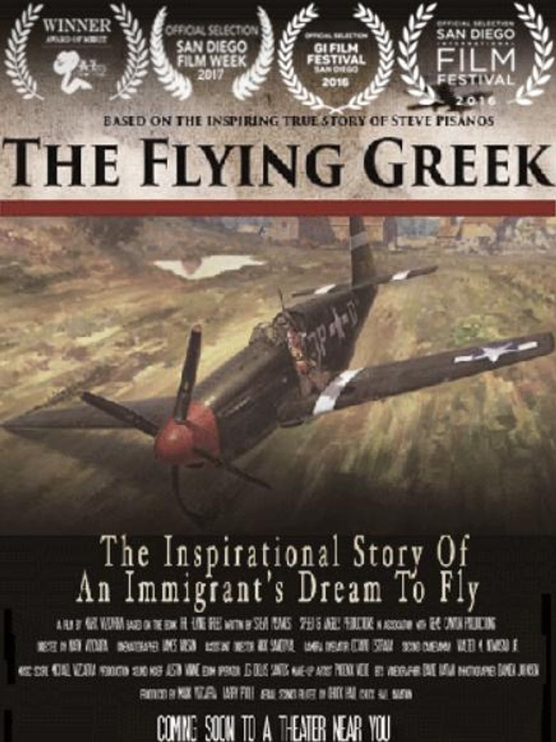 The Flying Greek Poster