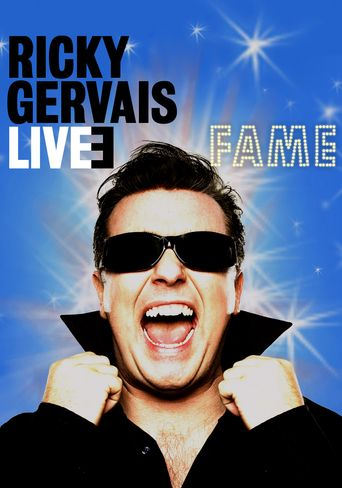 Ricky Gervais Live 3: Fame Poster