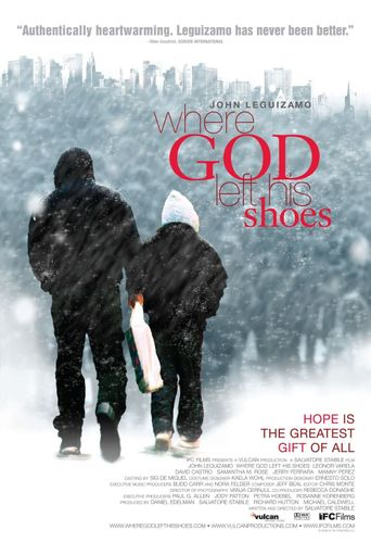 Where God Left His Shoes Poster