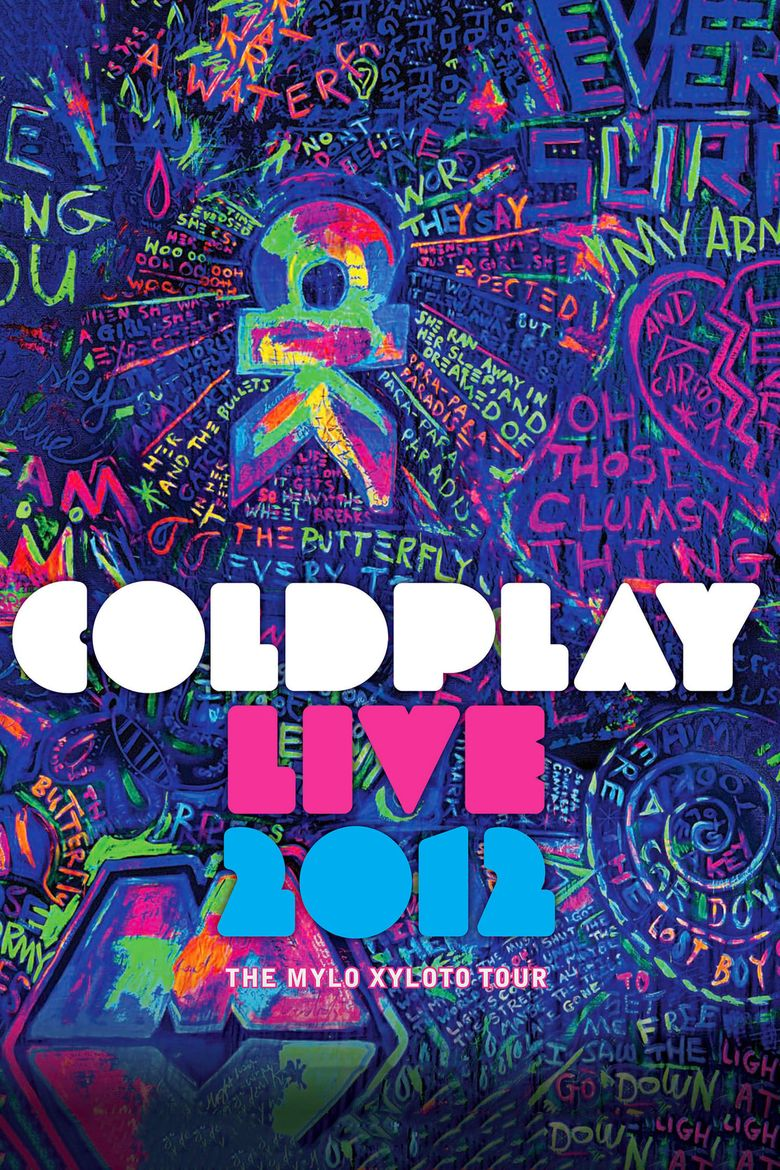 Coldplay: Live 2012 Poster